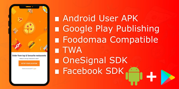 Android app for foodomaa + publication 1