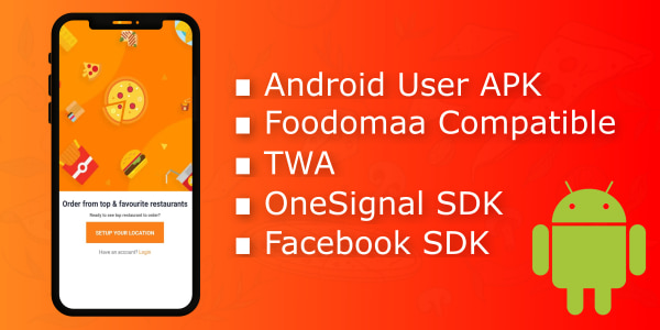 Android app for foodomaa2