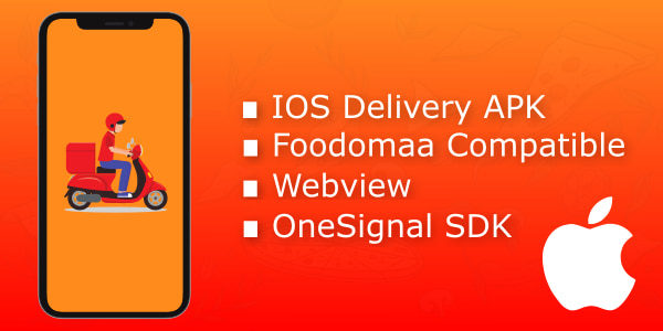 IOS apk for foodomaa delivery