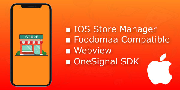 IOS apk for foodomaa store