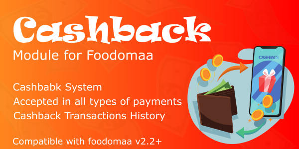 cashback module for foodomaa