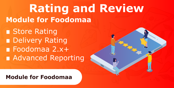 rating and review module for foodomaa marketdev
